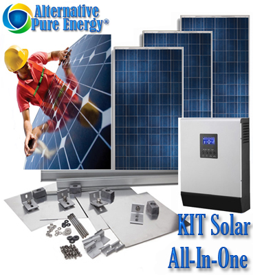 Kit Solar Fotovoltaic All-in-One 12 kVa