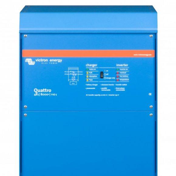 Invertor cu functii multiple Quattro 48V – 8000VA
