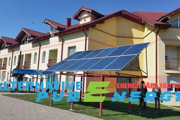 Sistem Fotovoltaic – Camin de Copii