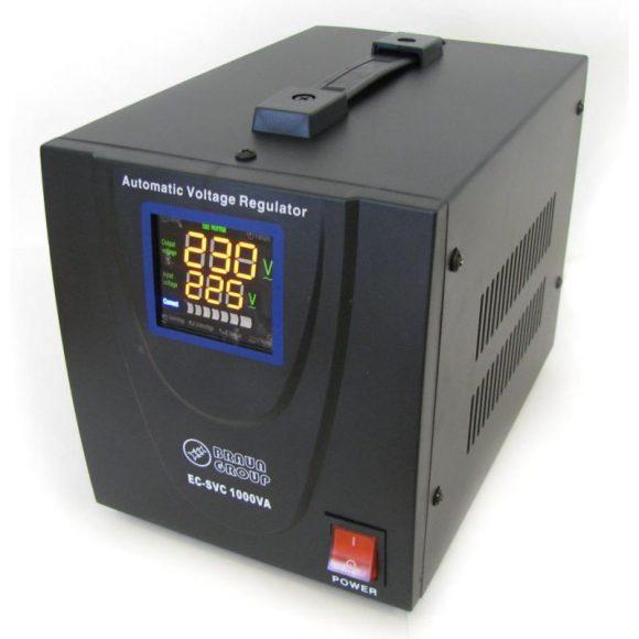 Stabilizator de tensiune cu servomotor Braun Group – EC-SVC 2000VA