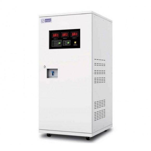 Stabilizator de tensiune trifazic cu servomotor 100kVA Braun Group – ES-SVC100KVA380