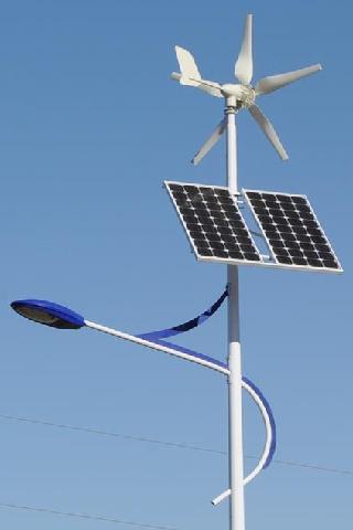 Stalpi Iluminat Stradal cu Panou Solar Fotovoltaic + Eoliana APE 100