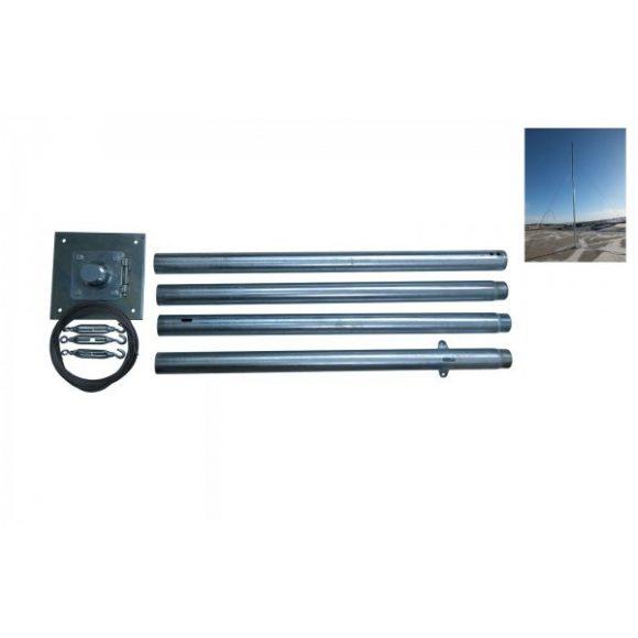 Stalp Metalic 200w-800w Complet 6m (4×1.5m)