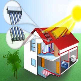 Sistem panouri solare apa calda 9-10 persoane