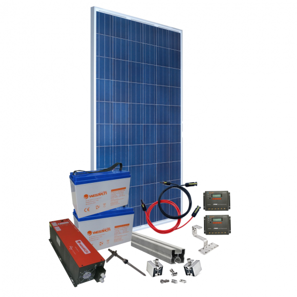 Kit Fotovoltaic Westech off grid 4,0 Kw