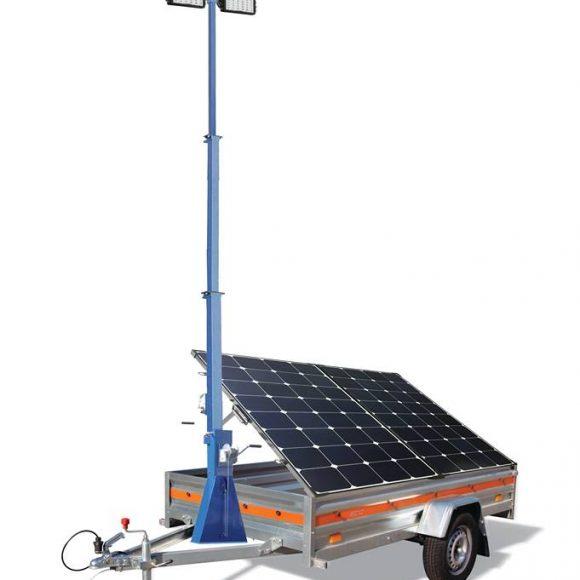 Turn de Iluminat ECO cu Generator Fotovoltaic Mobil APE 300