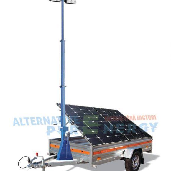 Generator Solar Mobil Turn de Iluminat ECO APE 300