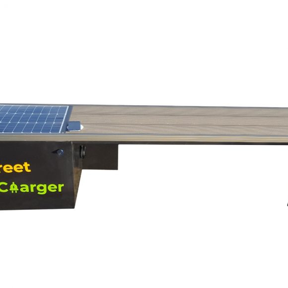 Solar Smart Bench Charger