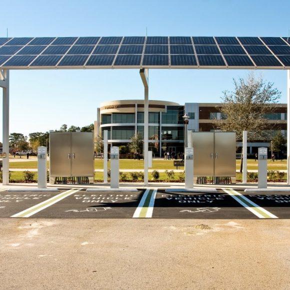 Solar CarPort Charger