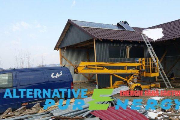 Sistem Fotovoltaic – Depozit de Constructii