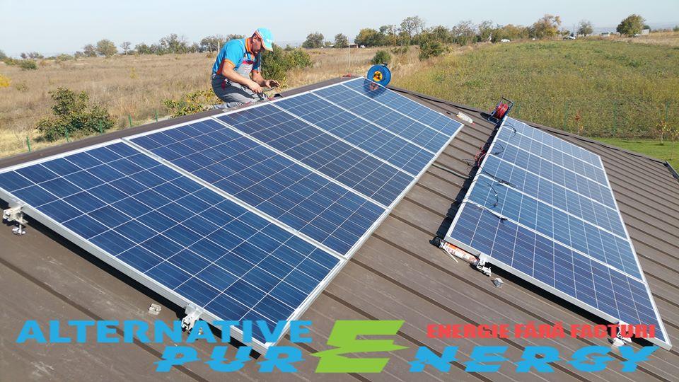 Instalare Sistem Fotovoltaic - Locuita Rezidentiala 1-3