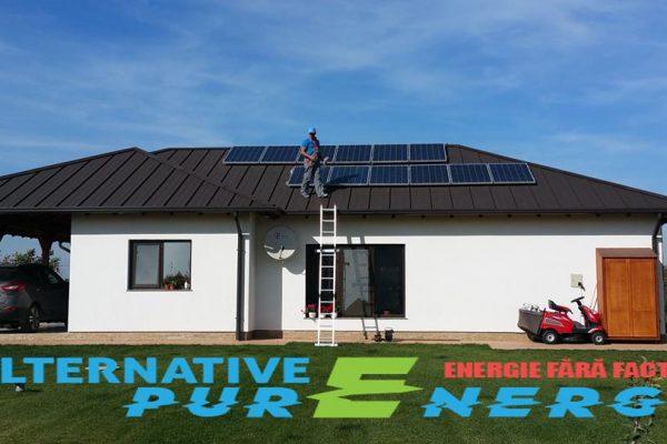 Sistem Fotovoltaic – Locuita Rezidentiala